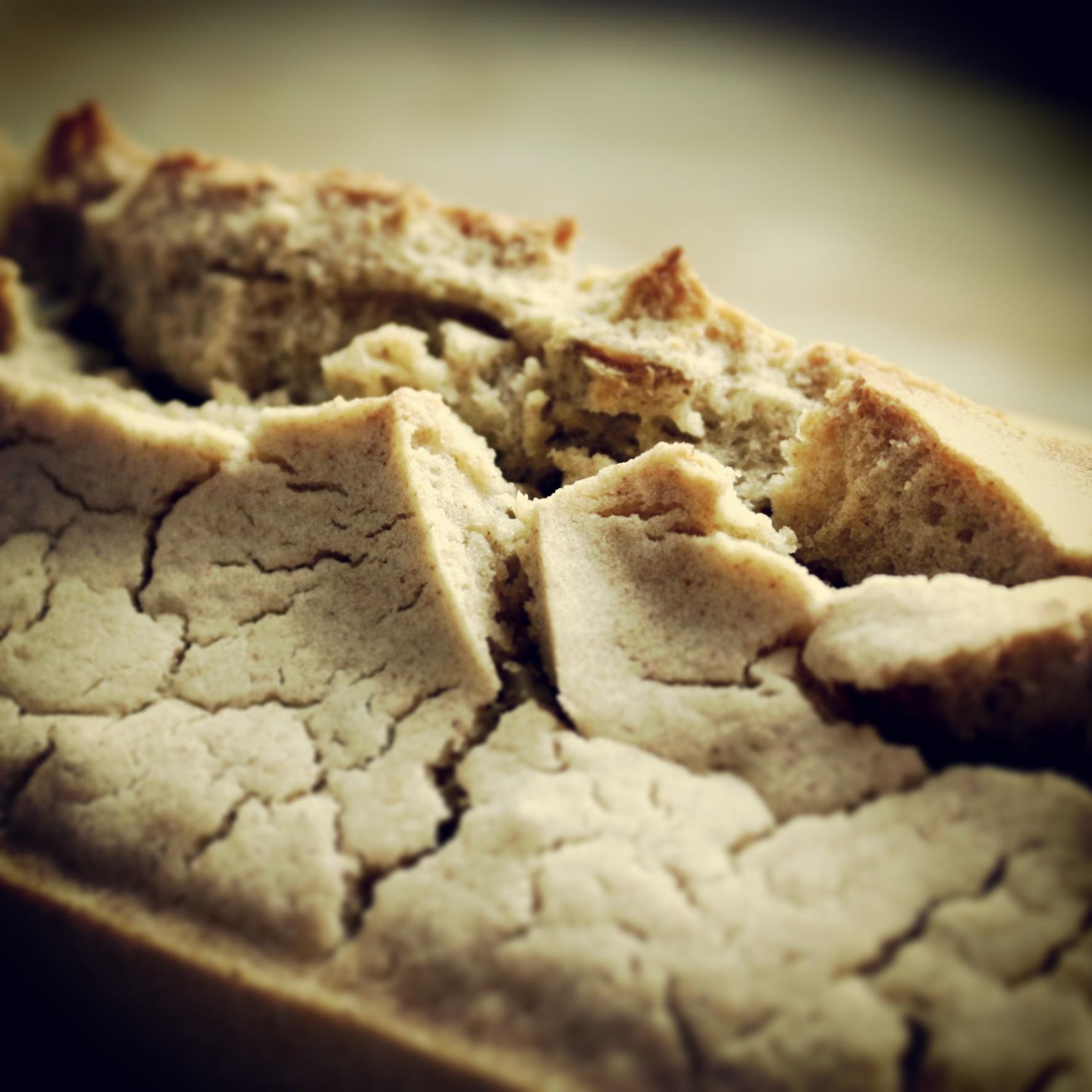 Chleb kukurydziano-gryczany na szybko