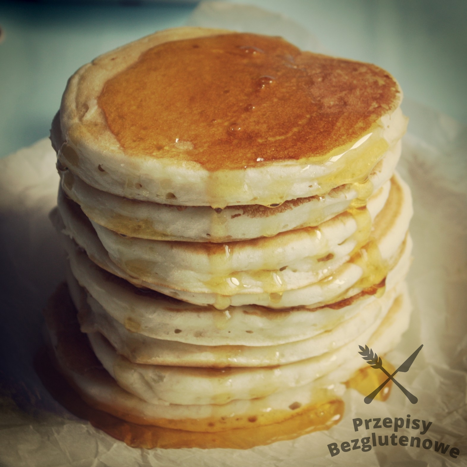 Bezglutenowe American pancakes