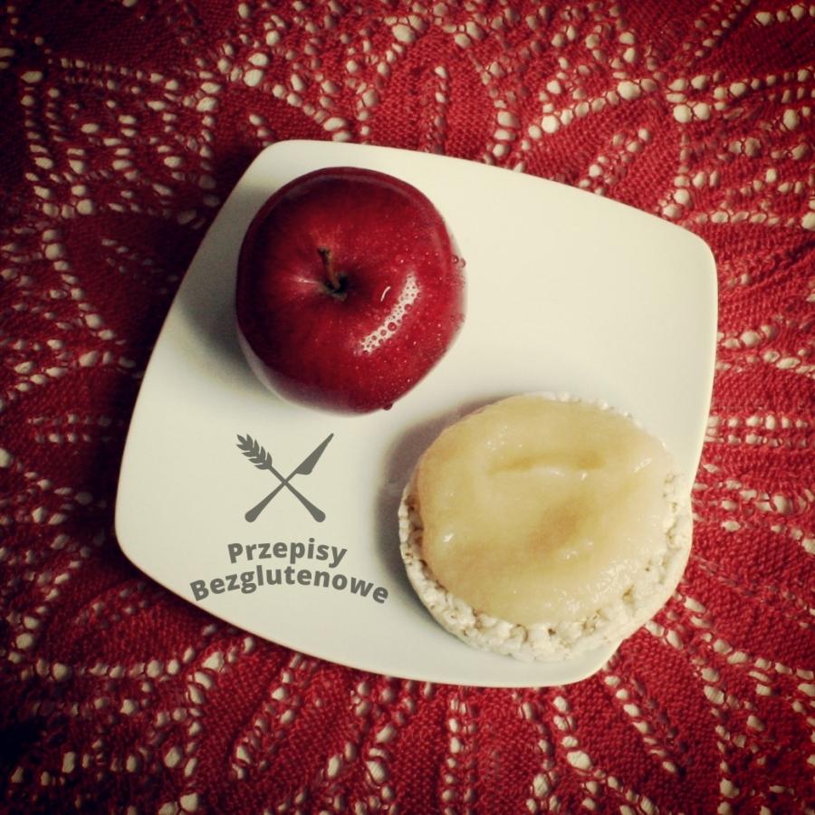 Bezglutenowy mus jabłkowy
